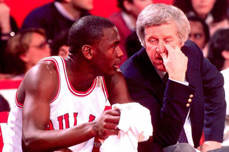 Michael Jordan, Kevin Loughery