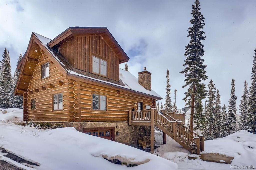 Log cabin in Breckenridge, Colorado