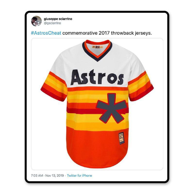 2017 Astros throwback jerseys