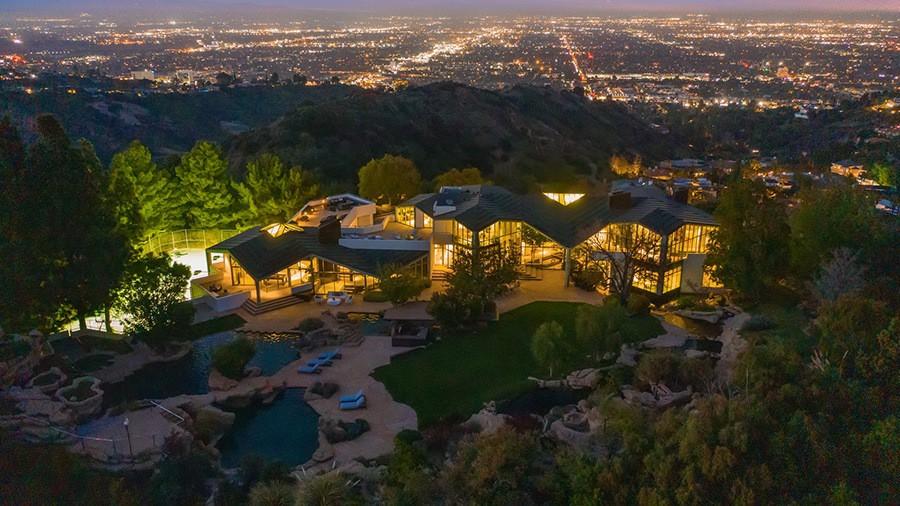Pharrell Williams' house in Beverly Hills