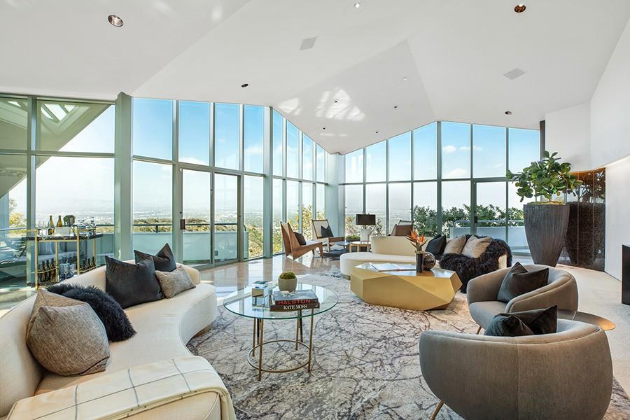 Pharrell Williams' living room