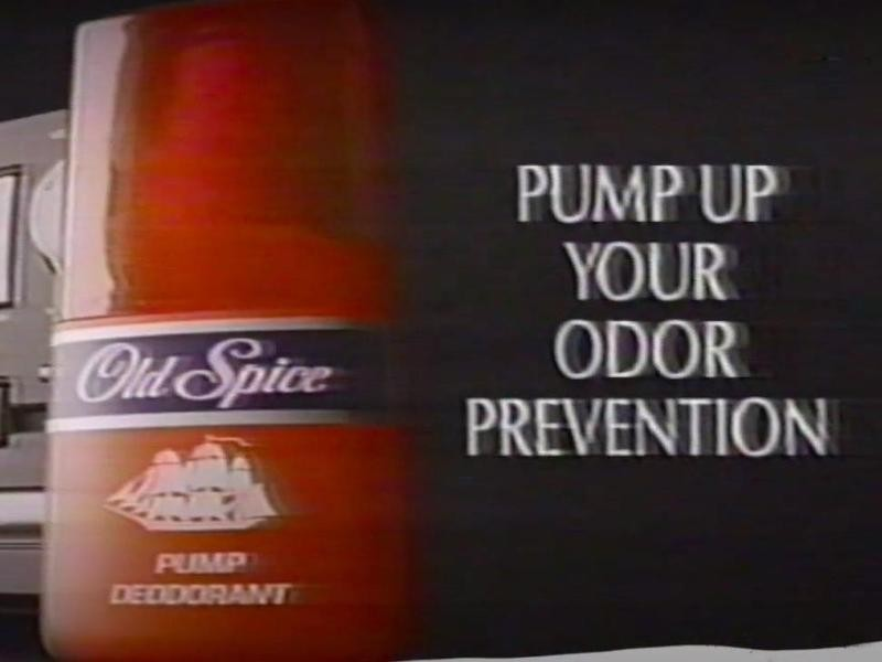 1992 Old Spice Pump Deodorant Commercial