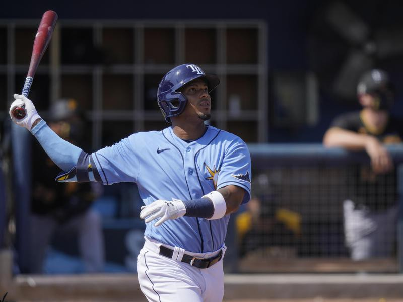 Tampa Bay Rays shortstop Wander Franco