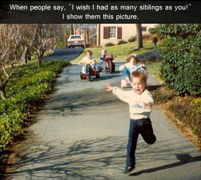 Kids on big wheels meme