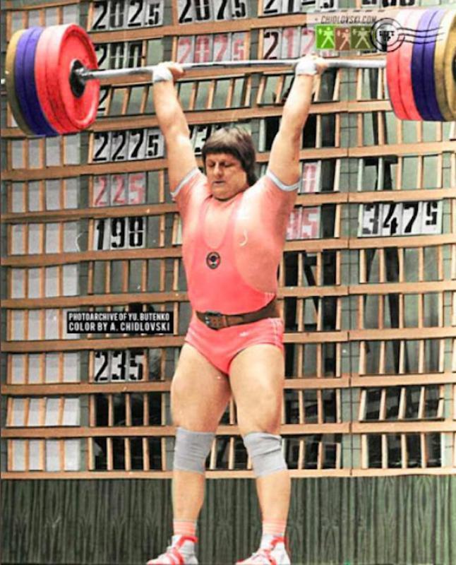 Leonid Taranenko lifting
