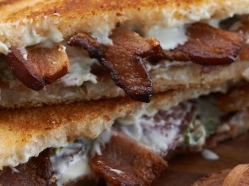 Grilled Blue and Bacon