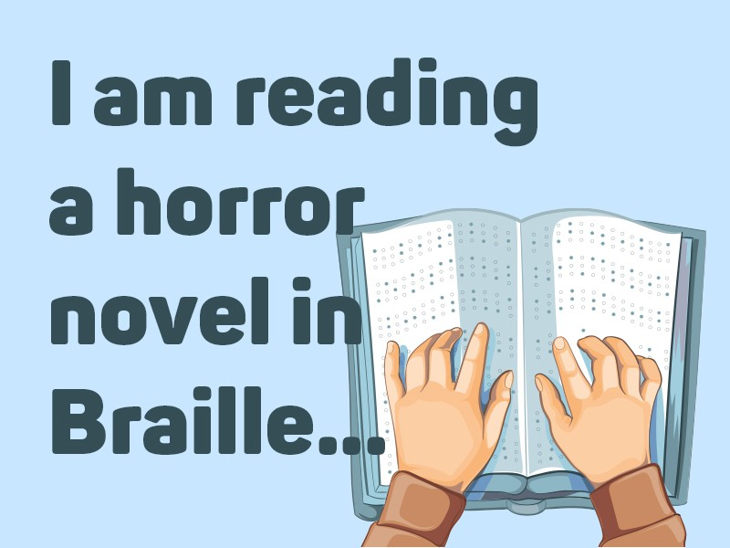 Book in braille