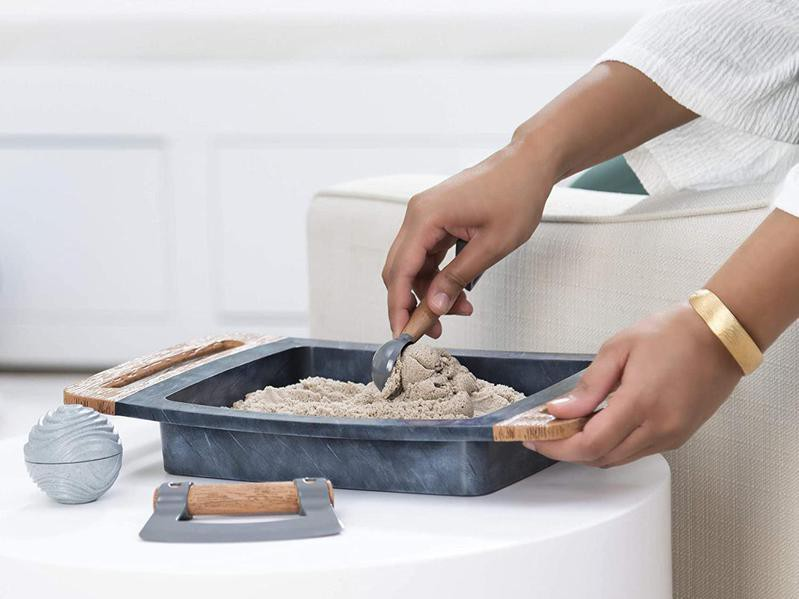 Kinetic Sand Kalm Fidget Toy for Adults