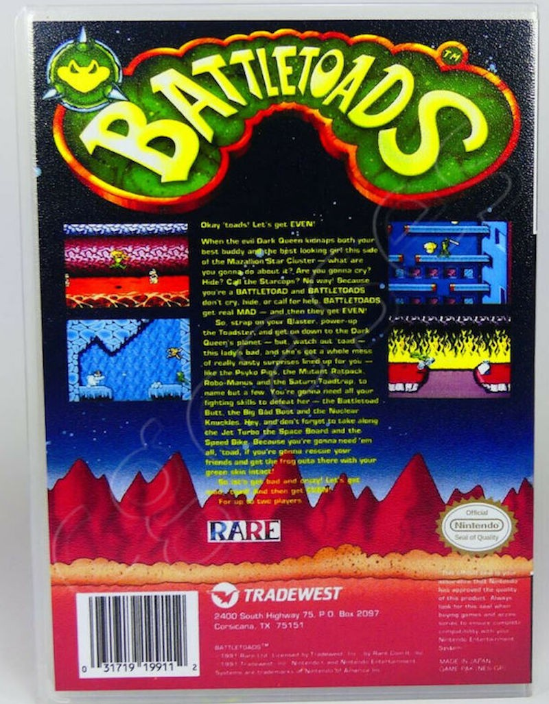 Battletoads NES