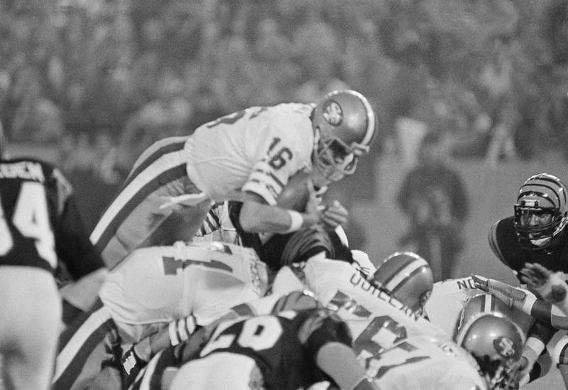 Joe Montana in Super Bowl XVI