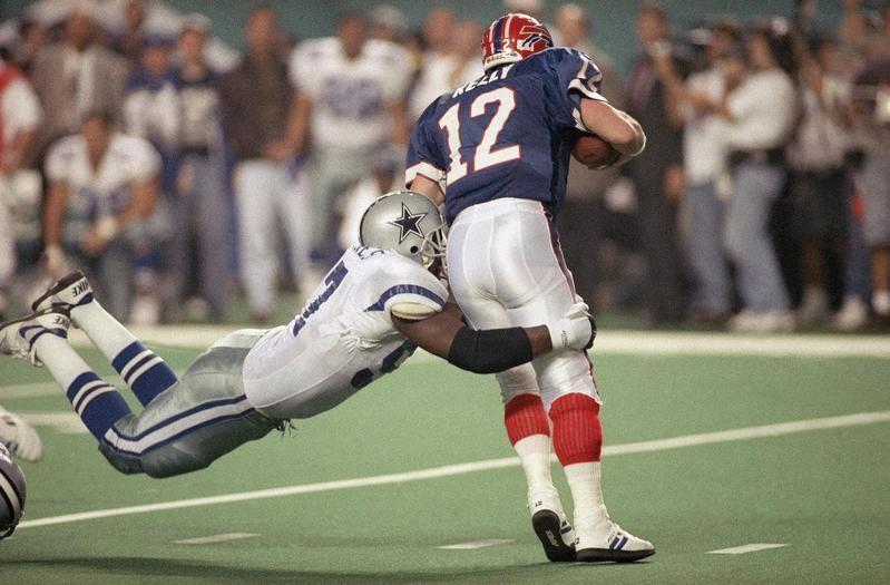 Jim Kelly in Super Bowl XXVIII