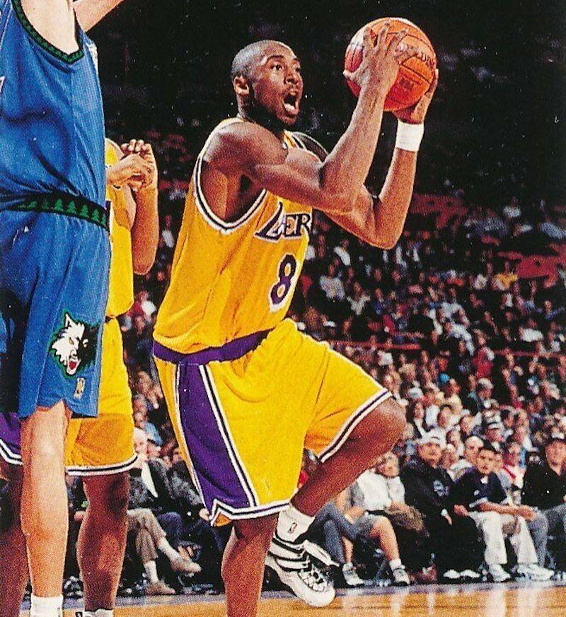 1996 Topps Chrome Refractor Kobe Bryant
