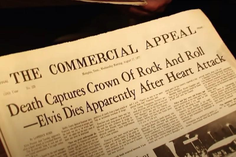 Elvis Presley newspapers