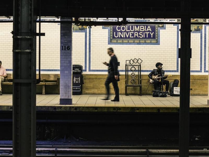 Columbia University Station at New York Subway