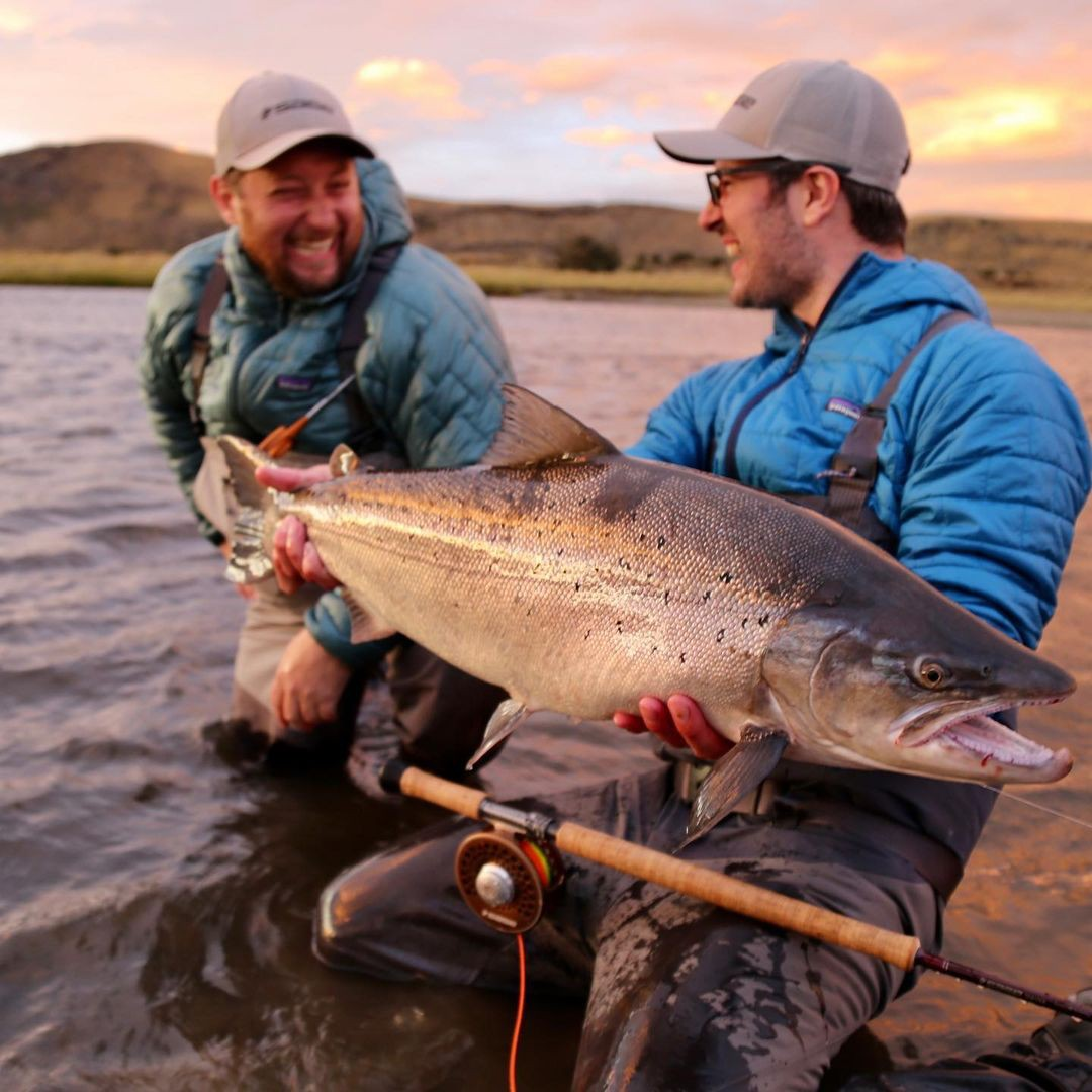 Fishing in Patagonia, Argentina