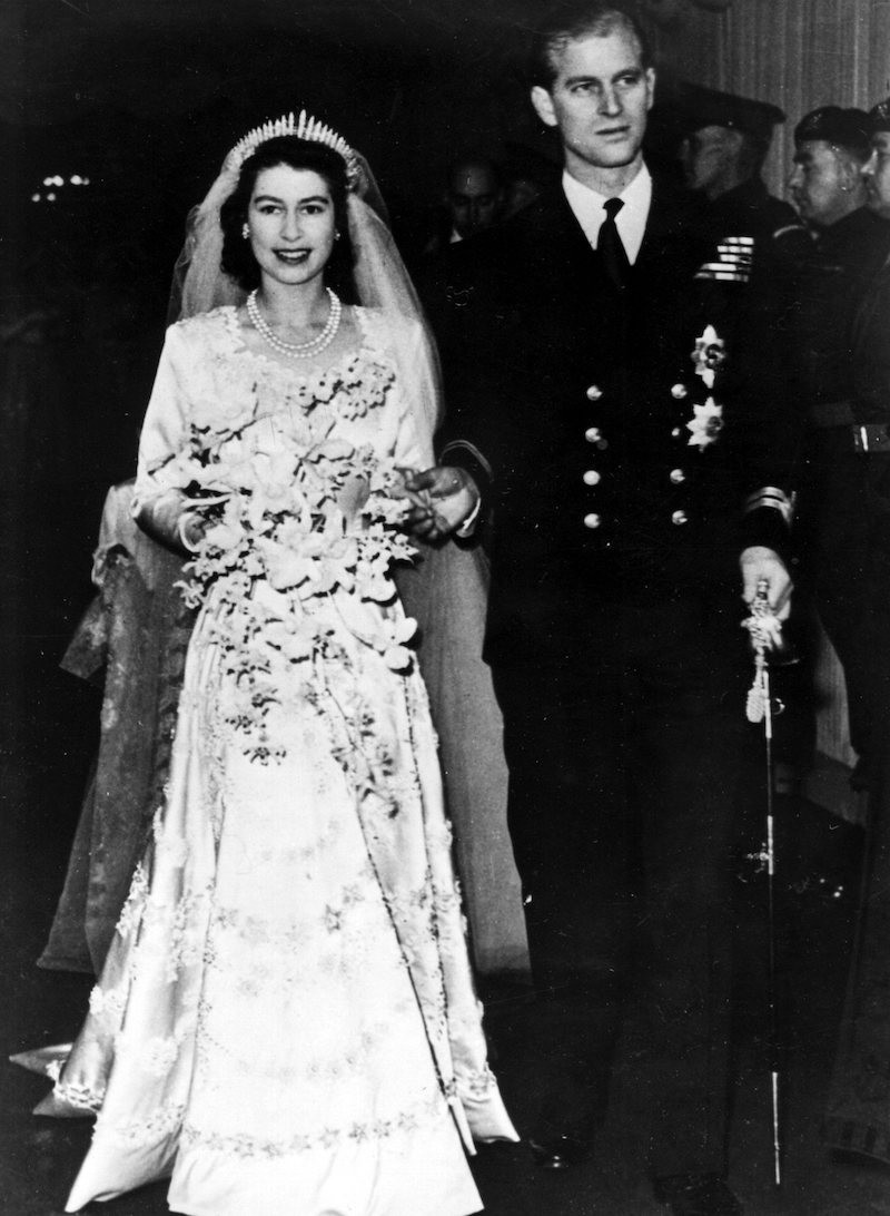 Princess Elizabeth an Prince Philip