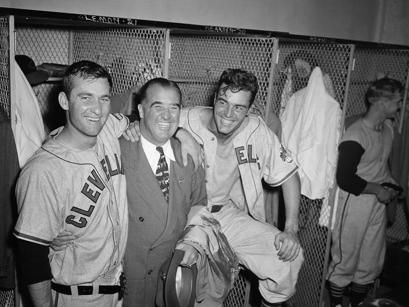 Bob Lemon, Happy Chandler, Gene Bearden