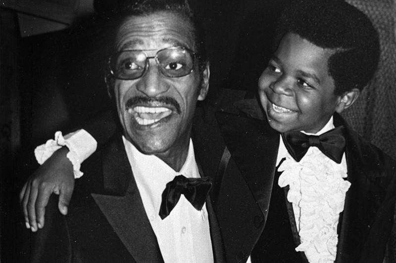 Sammy Davis Jr. and Gary Coleman