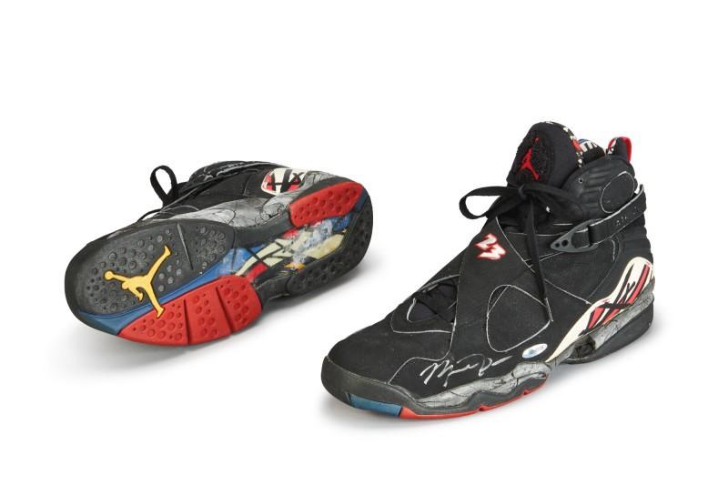 Michael Jordan's Playoff Air Jordan VIIIs