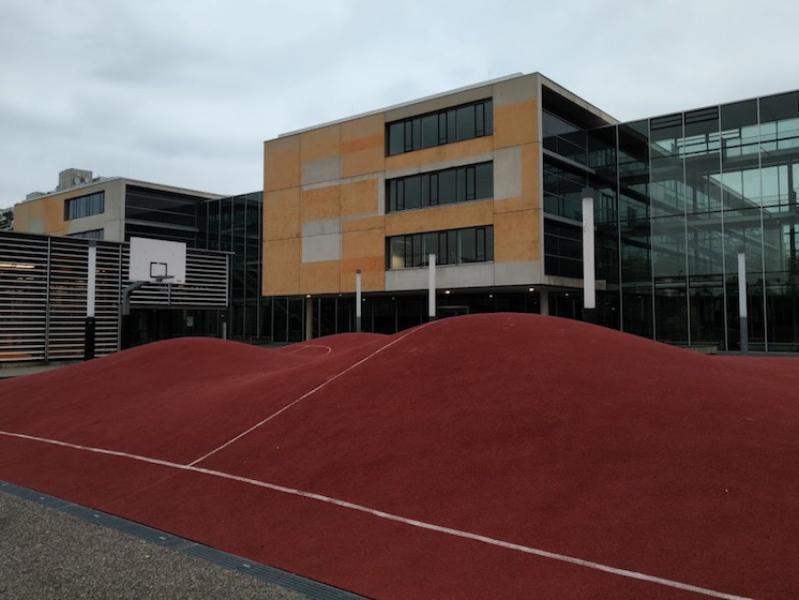 3D basketball court in Munich