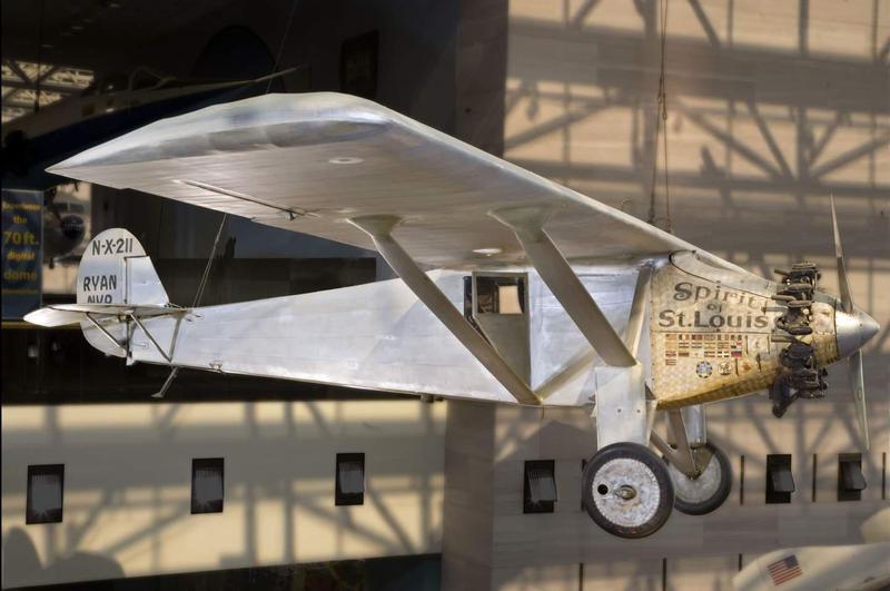 The Spirit of Saint Louis plane