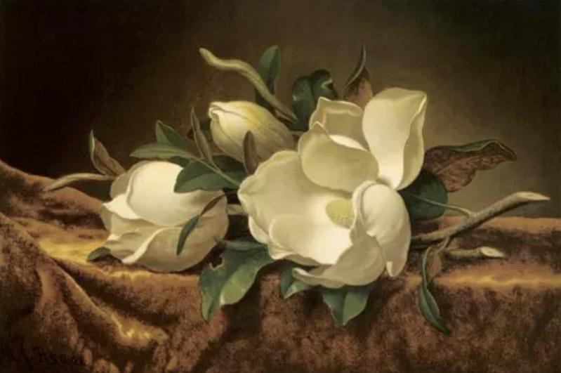Martin Johnson Heade Painting