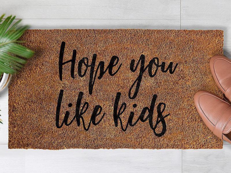 Hope you like kids funny doormat