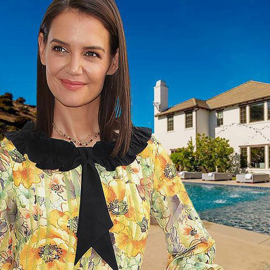 Katie Holmes Is Selling Her $4.6M California Home