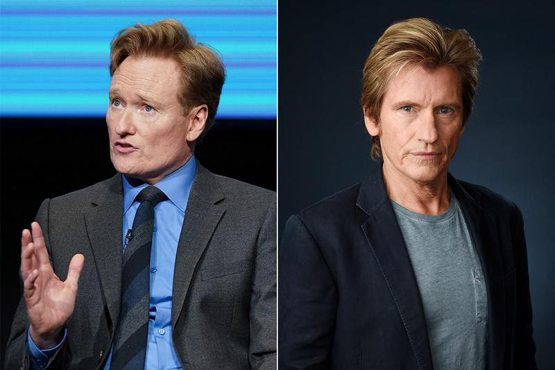 Conan O'Brien and Denis Leary