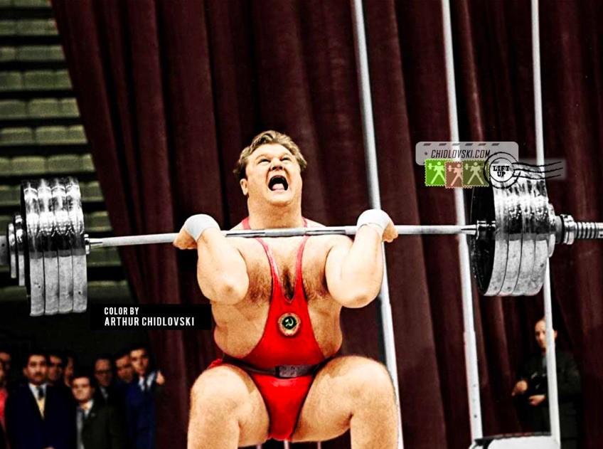 Leonid Zhabotinsky lifting with reaction
