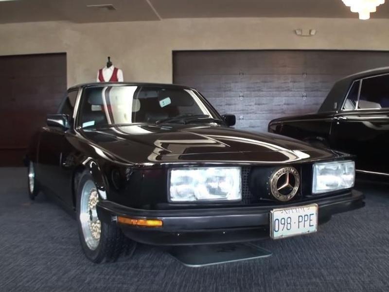 Wayne Newton's custom 1981 Mercedes Benz 380L