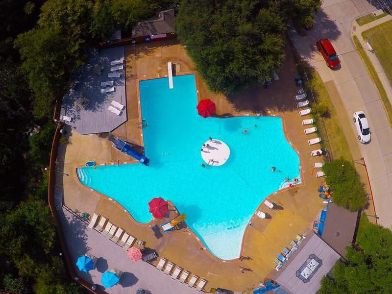 The Texas Pool in Plano