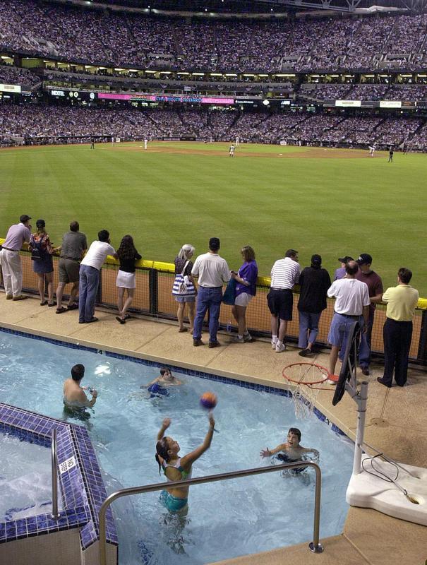 Arizona Diamondbacks' outfield pool