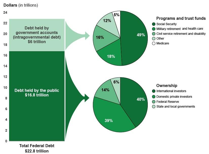 Public debt vs. government debt