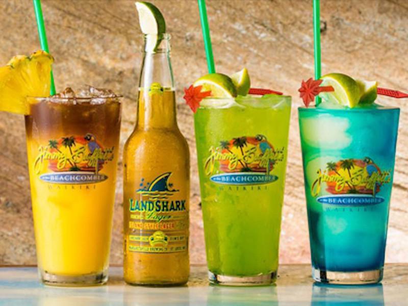 Margaritaville drinks