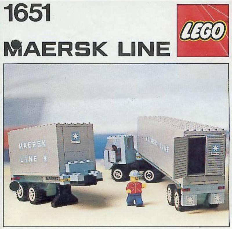 Maersk Container Truck