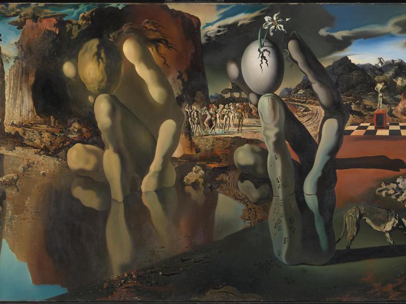 """Metamorphosis of Narcissus"" by Salvador Dalí"
