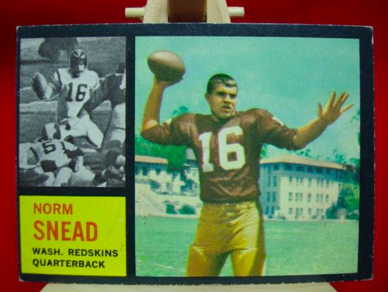 Norm Snead Topps card