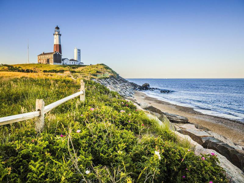 Lighthouse at Montauk, New York