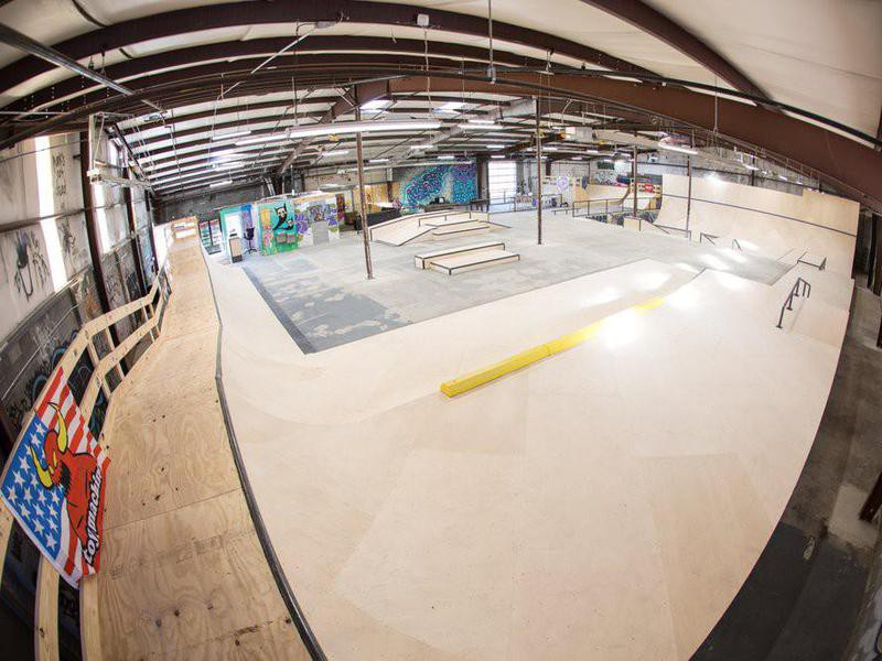 RAD Skatepark in Asheville, North Carolina