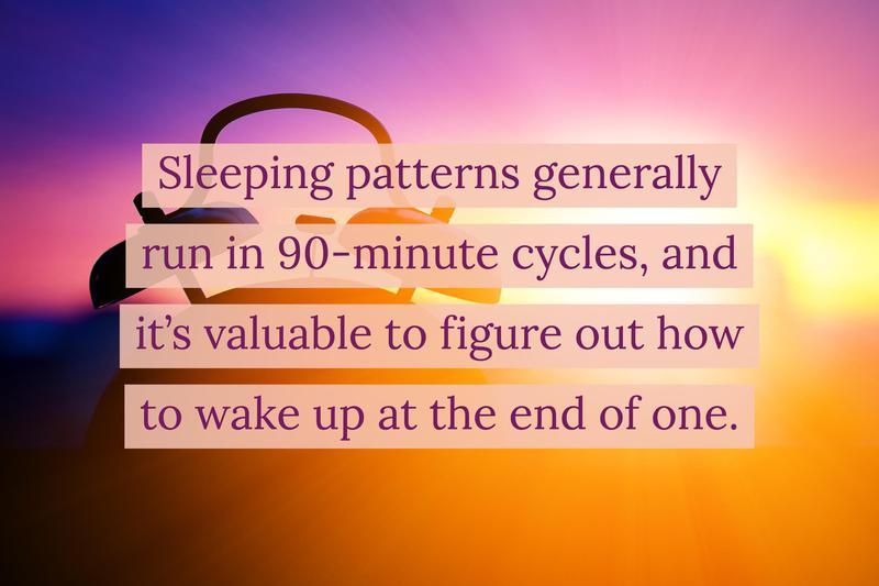 wake-up time sweet spot