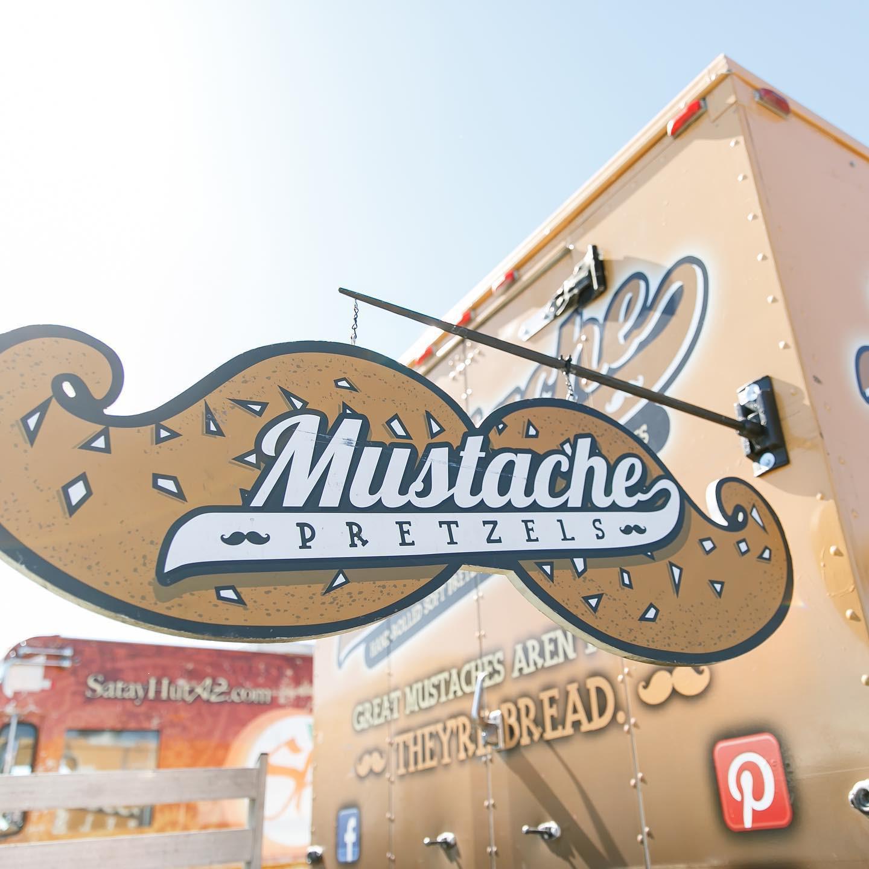 Mustache Pretzels food truck