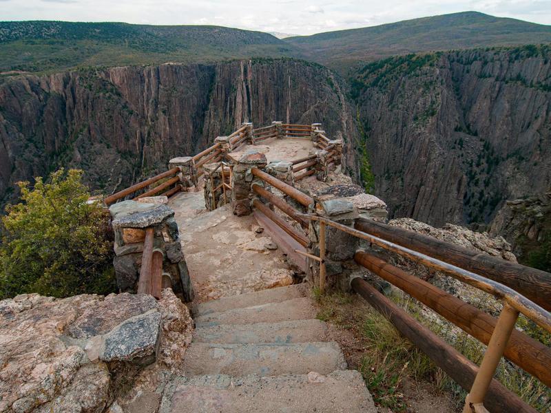 Black Canyon of Gunnison National Park - Overlook