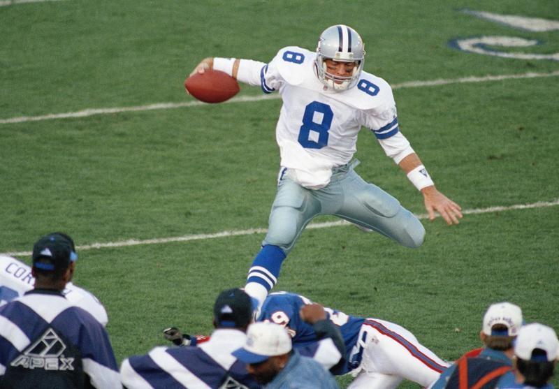 Troy Aikman in Super Bowl XXVII