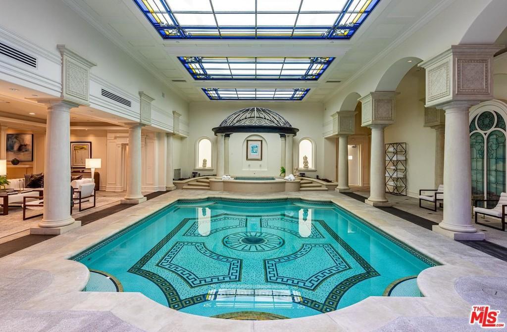 Huge indoor pool