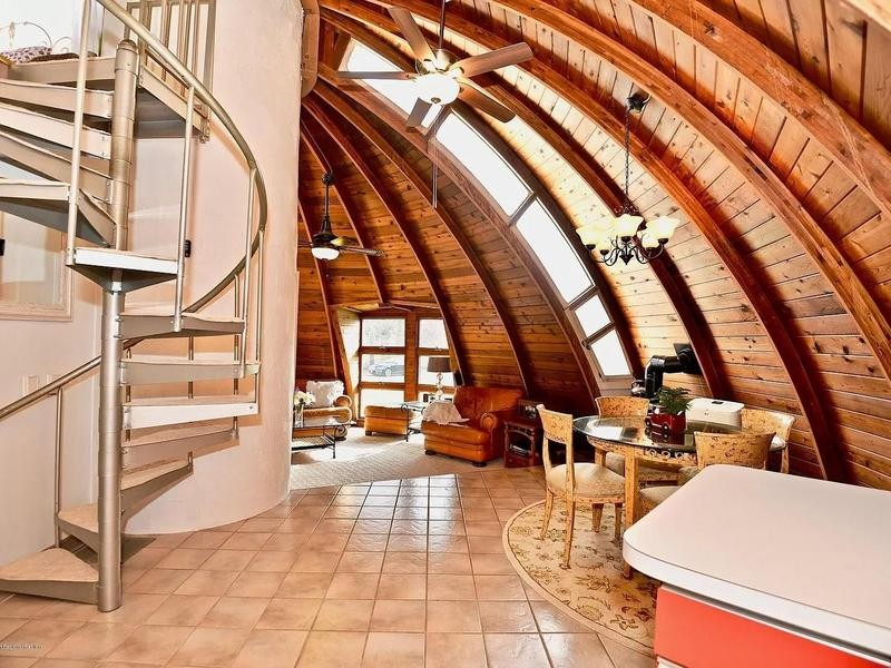 Dome house in New Jersey