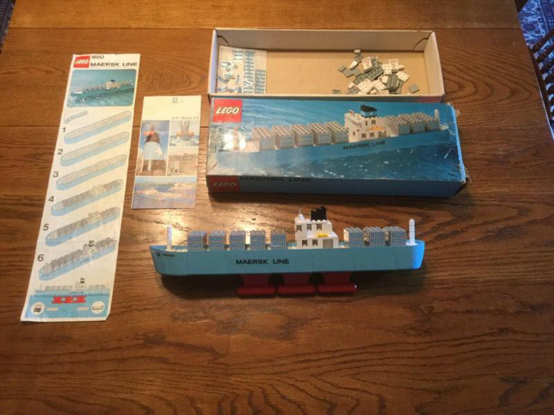 Lego Maersk Container Ship 1650