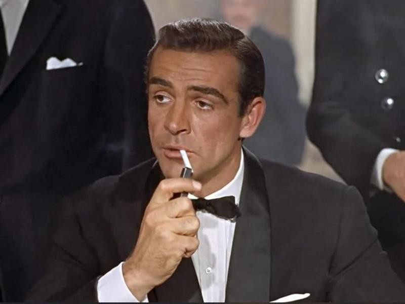 """Sean Connery in """"Dr. No"""""""