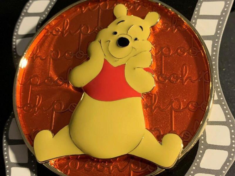Cursive Cutie Winnie the Pooh Disney pin
