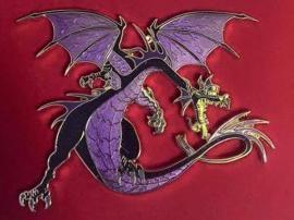 Super Jumbo Maleficent Dragon Gate Disney pin